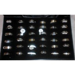 36 Units of Stainless Steel Ring - Rings
