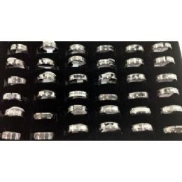 72 Units of Stainsteel Ring for Man/ Woman - Rings