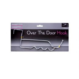 36 Units of over the door chrome hook - Hooks