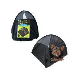 24 Units of pop up 14x14x14 dog tent - Pet Accessories