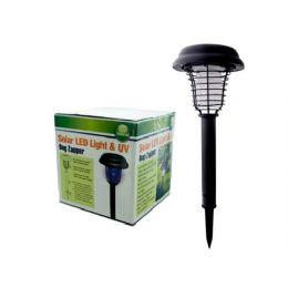 6 Units of Uv Led Solar Bug Zapper - Pest Control