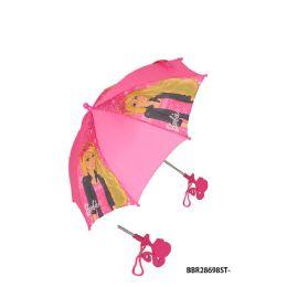 24 Units of Barbi Doll Umbrella - Umbrellas & Rain Gear