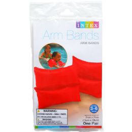 72 Units of ARM BANDS IN PEGABLE POLY BAG - Summer Toys