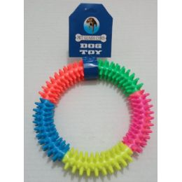"24 Units of 6"" Round Pet Chew Ring - Pet Toys"