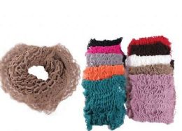 72 Units of Ladies Fashion Infinity Scarf - Winter Scarves