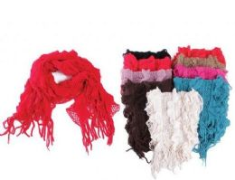 72 Units of Ladies Fashion Winter Scarf - Winter Scarves