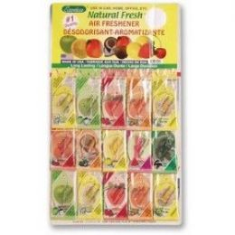 720 Units of Exotica Board Natural Scent 60Ct - Air Fresheners