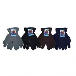 24 Units of Winter Fleece Glove Men HD - Fleece Gloves