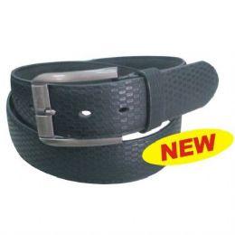144 Units of Belt Men Leather Cubes - Mens Belts
