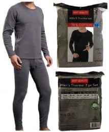 24 Units of Man Thermal Wear Set (shirt + Pants) - Mens Thermals