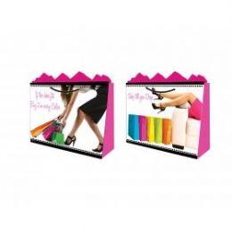 144 Units of GirlS-Bag Jumbo Gls Pro Shopper 2 Styles - Gift Bags Hologram