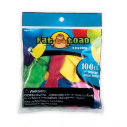 """144 Units of Fat Toad Water Balloons 2"""" 100CT - Balloons & Balloon Holder"""