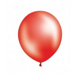 "40 Units of Fat Toad 72CT 12"" Pearl Red - Balloons & Balloon Holder"