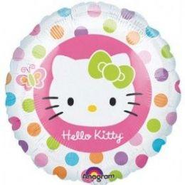 100 Units of AG 18 Pkg LC Hello Kitty Rainbow - Balloons & Balloon Holder