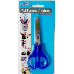 48 Units of All Purpose 5 inch Scissor - Scissors