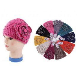 120 Units of Headband With Rhinestone Wide Size - Ear Warmers