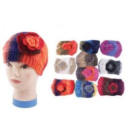120 Units of Tie Die Headband Round Style Wide Size - Ear Warmers