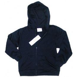 12 Units of Boys 4 - 7 Full-Zip Hooded Fleece - Boys Sweaters