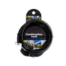 12 Units of combination cable lock - Padlocks and Combination Locks