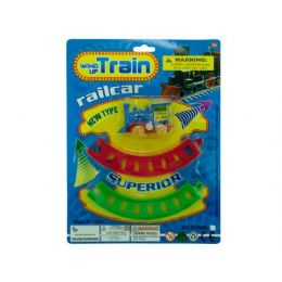 72 Units of Wind Up Train With Track - Toy Sets