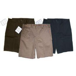 24 Units of Boys Husky School Shorts - Boys School Uniforms