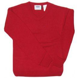 12 Units of School Crew Neck Sweater - Boys School Uniforms
