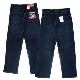 14 Units of Big Men's 5-Pocket Cross Hatch Ring Spun Denim Jeans - Mens Jeans