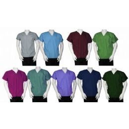 36 Units of 2 Pkt Scrub Top - Nursing Scrubs