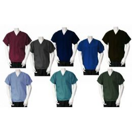 36 Units of 1 Pkt Scrub Top - Nursing Scrubs