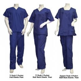 25 Units of 2 Pc Set Scrub Set Navy Only - Nursing Scrubs