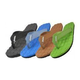 36 Units of Men's Canvas Fip Flops - Men's Flip Flops and Sandals