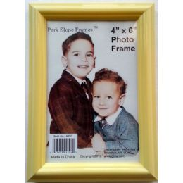 48 Units of Plastic 4 x 6 Picture Frame Beige - Picture Frames