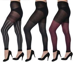 36 Units of Women One Size Leggings - Womens Leggings