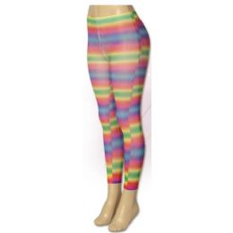 36 Units of Women Rainbow Leggings - Womens Leggings