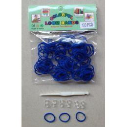 144 Units of 100pk Loom Bands [royal Blue - Bracelets