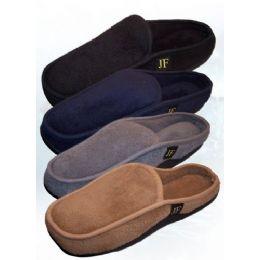 24 Units of Bertelli Men's Slide-In Slippers - Men's Slippers