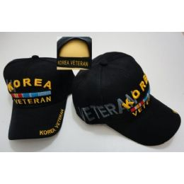 24 Units of Korea Veteran Hat [Shadow] - Military Caps