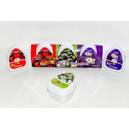 48 Units of Mini Gel Air Freshener 3 pack - Air Fresheners