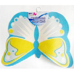 48 Units of Non-Slip Butterfly Shape Bath Mat - Bath Mats