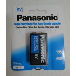 48 Units of Panasonic 9v Battery - Batteries