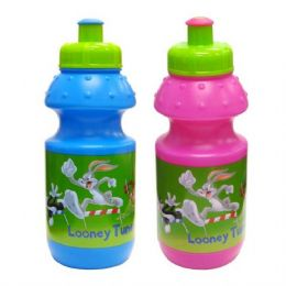 48 Units of Looney Tunes Water Bottle 12oz - Baby Utensils