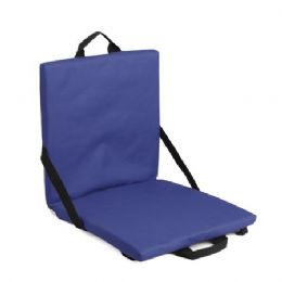 6 Units of Stadium Seat Cushion - Navy - Auto Accessories