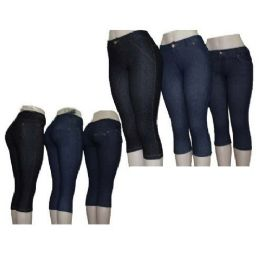 60 Units of Capri Tight Leggings - Womens Leggings