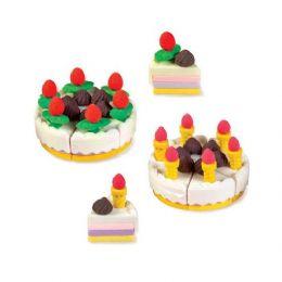 48 Units of Owl Bakery Cake Eraser - Erasers