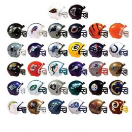 96 Units of Nfl Helmet Pencil Topper - Pencil Grippers / Toppers