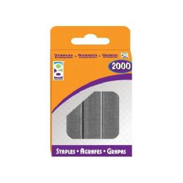 48 Units of Home Office 2000-Ct Standard Staples Pack - Staples and Staplers