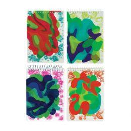 24 Units of Sassy Swirl 3D Memo Pad - Dry Erase