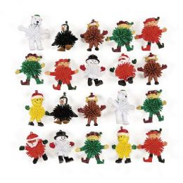 72 Units of Winter Wooly Man Toy - Novelty Toys