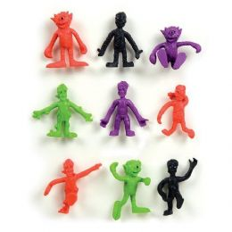 200 Units of Monster Bendable Buddies Figurines - Action Figures & Robots