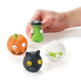 72 Units of Halloween PoP-Out Eyes Toy - Novelty Toys